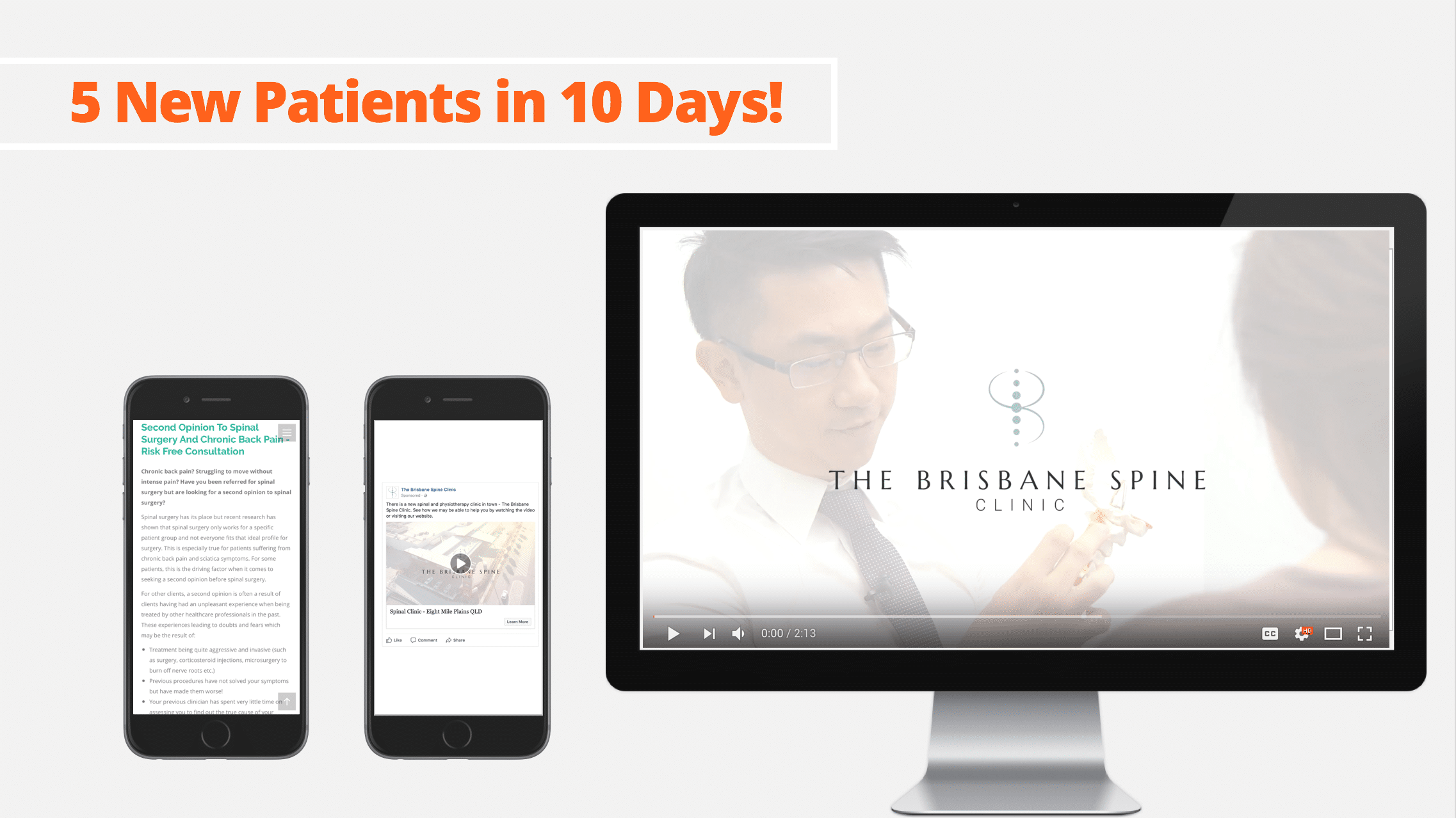 Brisbane Spine Clinic case study content