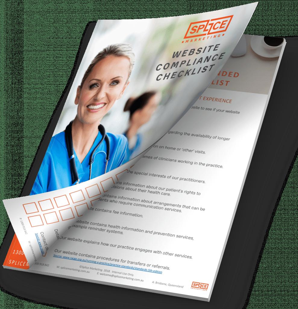 Splice ebook website compliance checklist for healthcare professionals