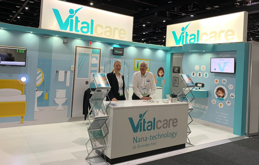 Vitalcare Exhibition Booth