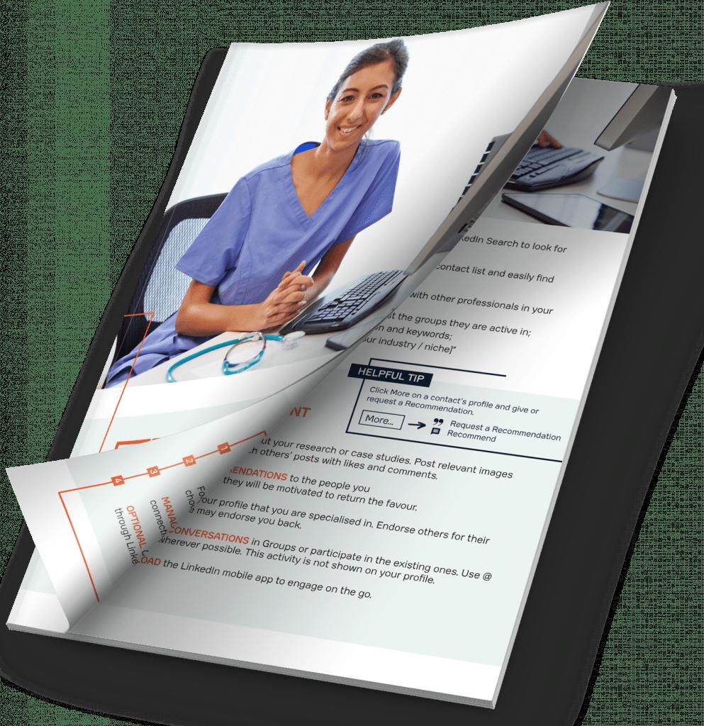 Splice ebook LinkedIn Guide for Healthcare Professionals